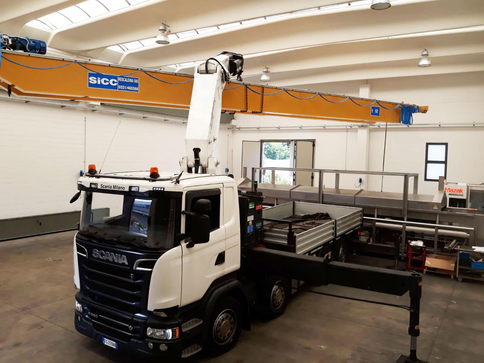 bridge crane assembly